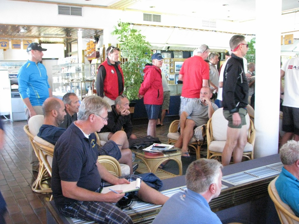 ICCA 2015 Skippers meeting