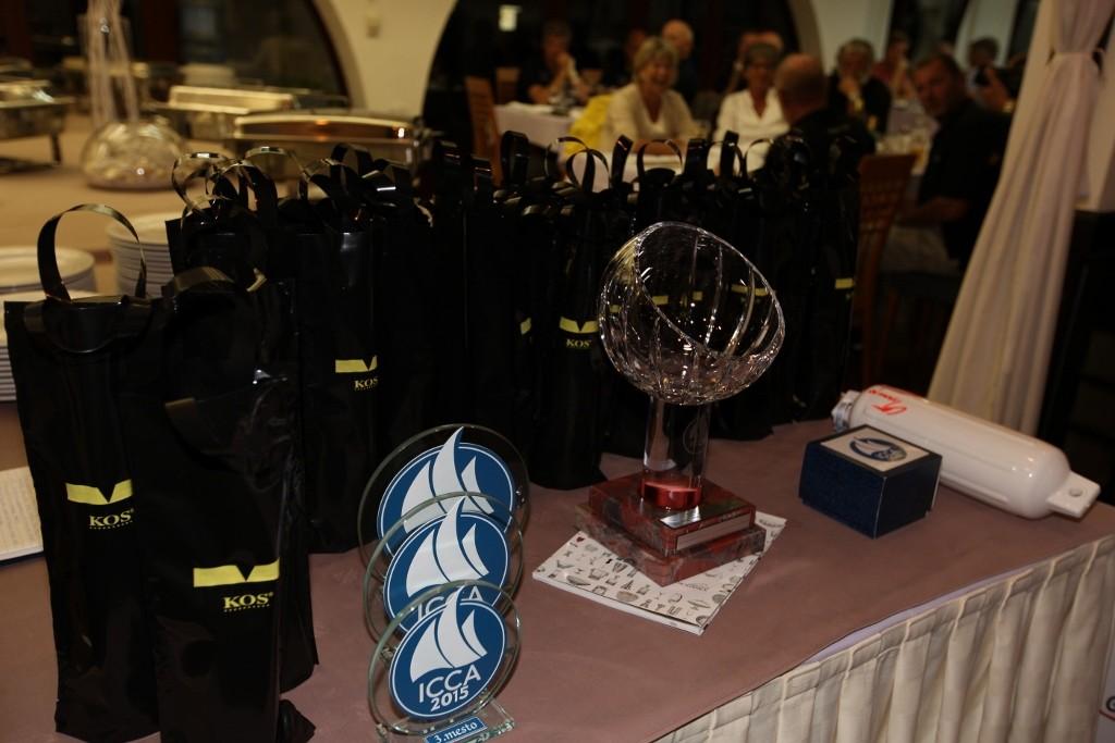 ICCA 2015 Prizegiving ceremony
